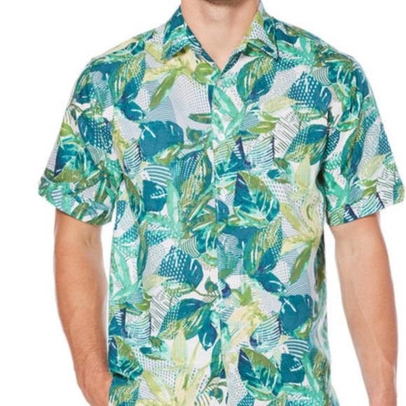 dcec777b Cubavera Shirts | New Mens Shortsleeve Tropical Shirt L | Poshmark